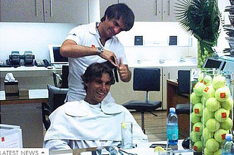rafa and Julien Farel hair