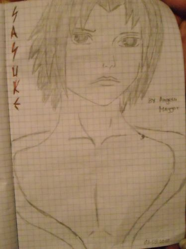 sasuke ^^.. I draw it
