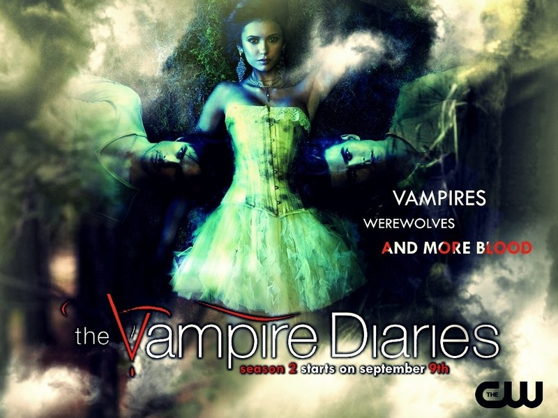 season 2 promo wallpaper - The Vampire Diaries Wallpaper (15232465) - Fanpop
