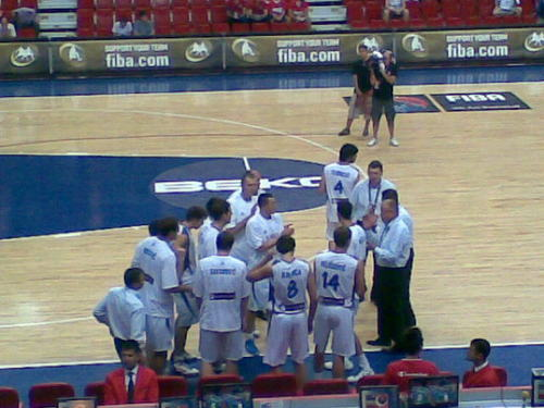 serbia basketball team...