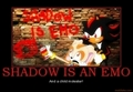 shadow is emo - shadow-the-hedgehog photo