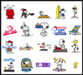 snoopy emoticons