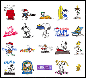 Snoopy snoopy emoticons
