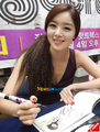 sunhwa-secret fan signing event