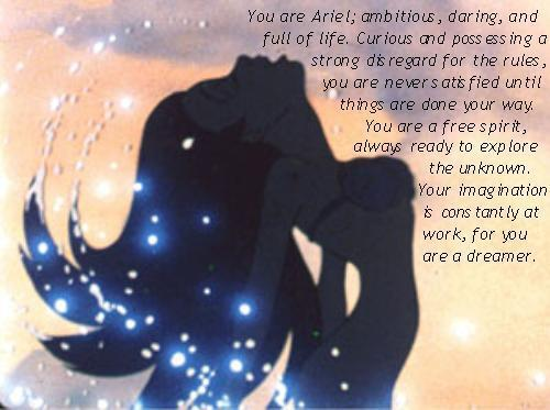 anda are an Ariel