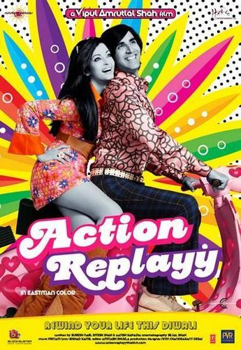 "Aishwarya Rai wallpaper with anime entitled ""Action Replay"" - photos"