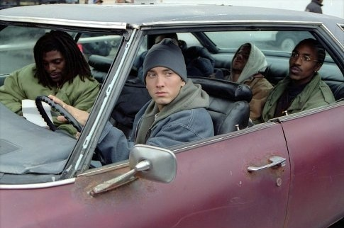 EMINEM wallpaper possibly containing an automobile titled 8 Mile