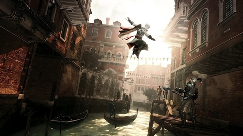 Assassin's Creed wallpaper containing a brownstone and a street titled AC2