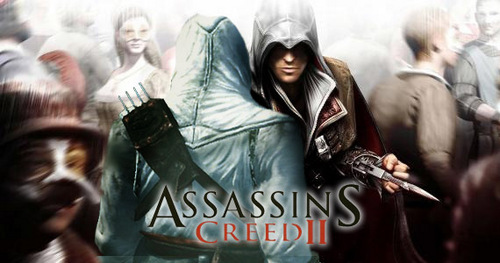 Assassin's Creed wallpaper probably with a lippizan, a surcoat, and a hip boot titled AC2
