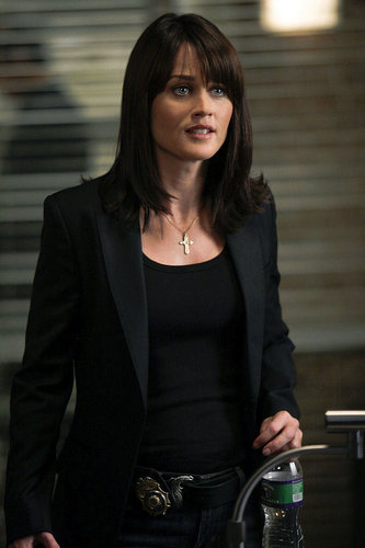 TV Female Characters پیپر وال with a business suit called Agent Teresa Lisbon - The Mentalist