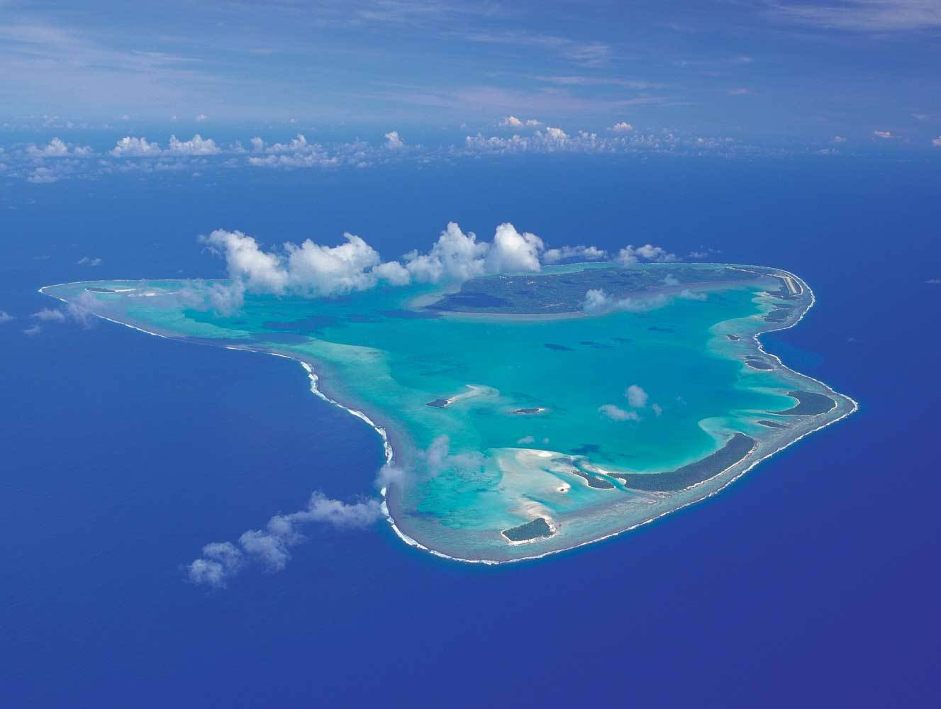 Download this The Cook Islands Aitutaki picture