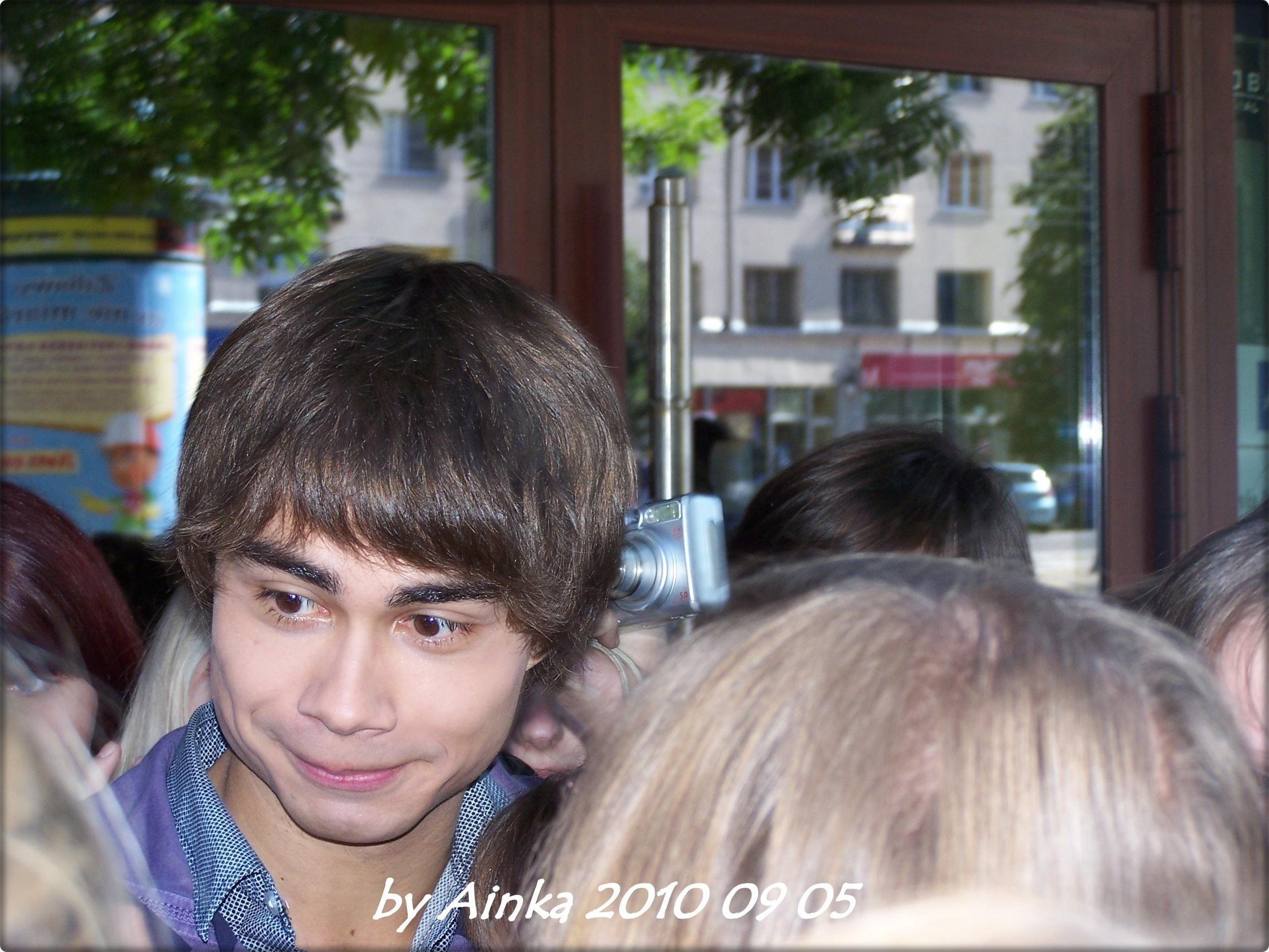 Alex's visit in Poland