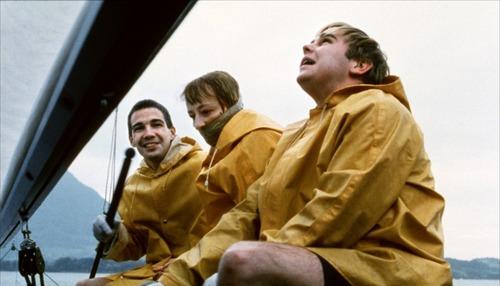 Arno Frisch, Frank Giering & Susanne Lothar in Funny Games (1997)
