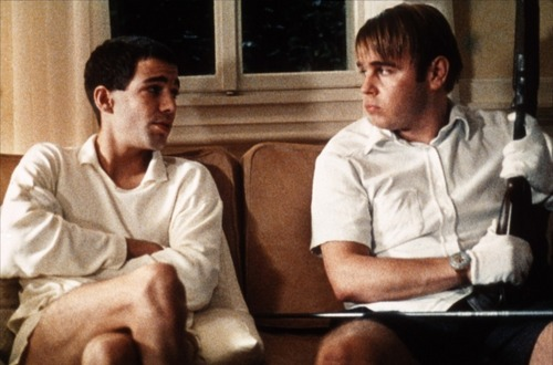 Arno Frisch & Frank Giering in Funny Games (1997)