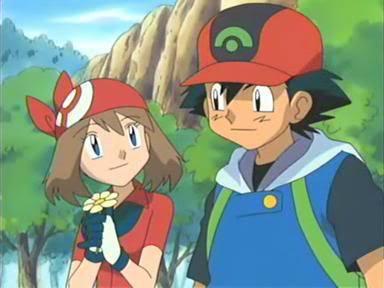Pokemon ash and may