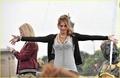 Ashley Greene on the set of LOL - twilight-series photo