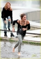 Ashley Greene on the set of LOL - twilight-series photo