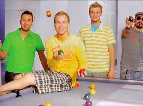 The Backstreet Boys 바탕화면 probably with a recreation room and a billiard room entitled Backstreet Boys <3