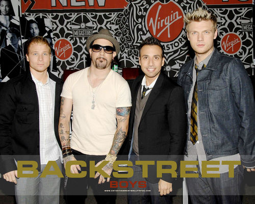 The Backstreet Boys 바탕화면 with a business suit and a well dressed person called Backstreet Boys <3