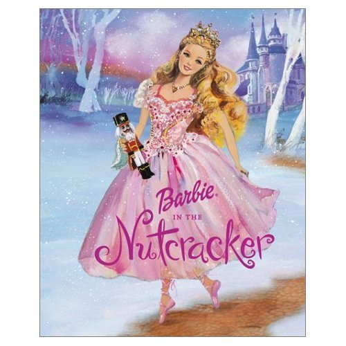 Barbie in the Nutcracker achtergrond containing a japon, jurk called Barbie in the Nutcracker storybook cover