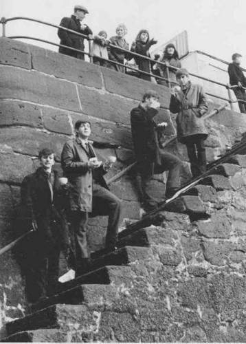 Beatles door River Mersey