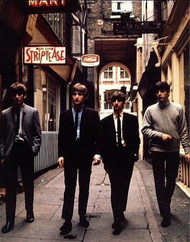 Beatles in Rupert Court