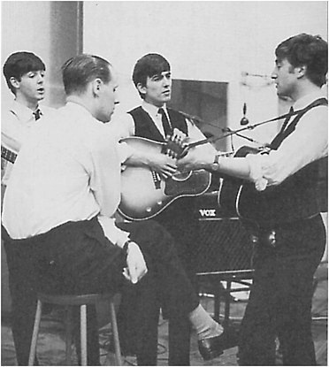 Beatles with George Martin
