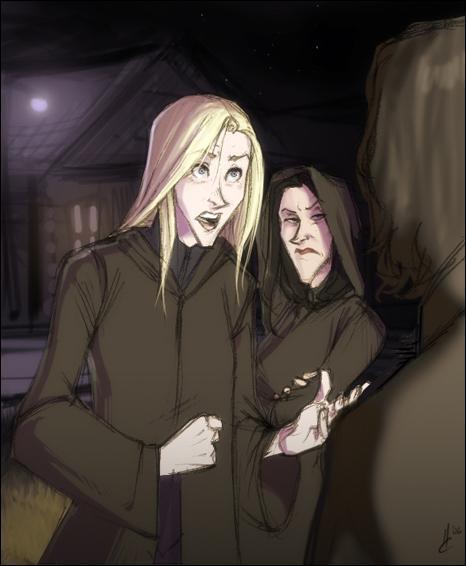 Bellatrix and Nercissa