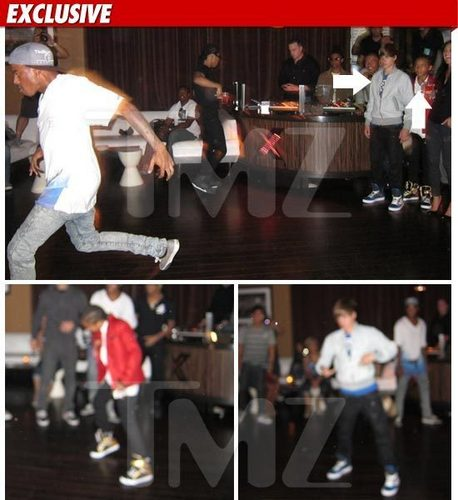 Bieber and Jaden Smith -- The Epic Dance Battle - jaden-smith Photo