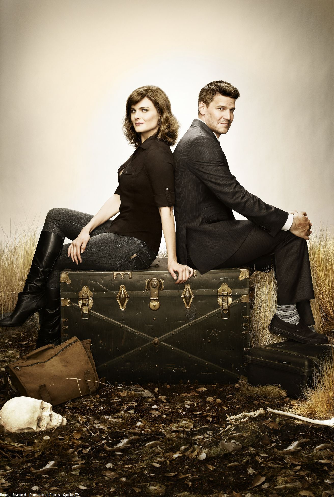 Bones/Booth Season 6 Promotional Poster (HQ) - Bones Photo ...