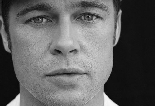 Brad Pitt photoshoot