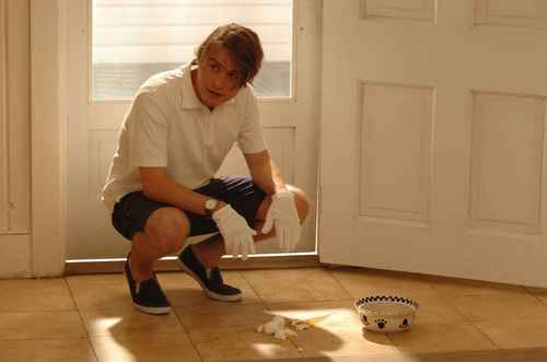 Brady Corbet in Funny Games (2007)