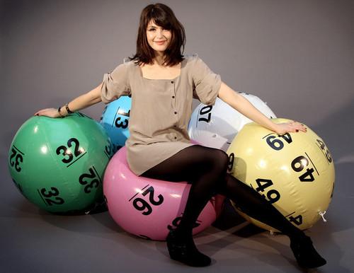 Britain Has Balls: National Lottery Photocall