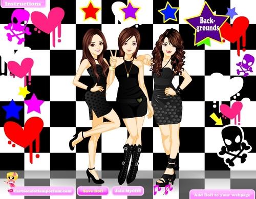 CDE Girl Band