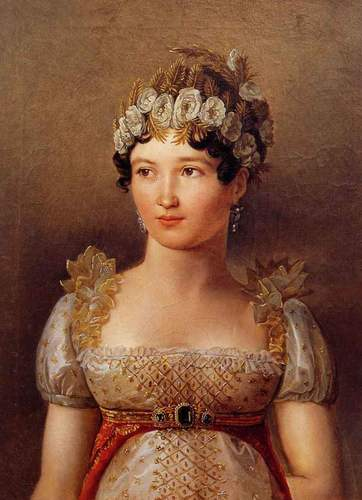 Caroline Bonaparte, reyna of Naples