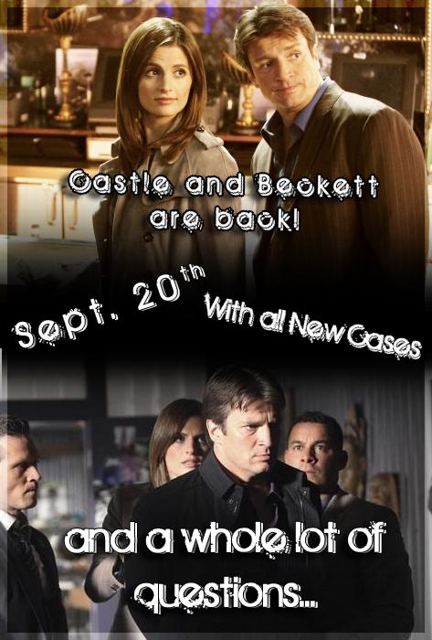 Castle Back sept. 20th