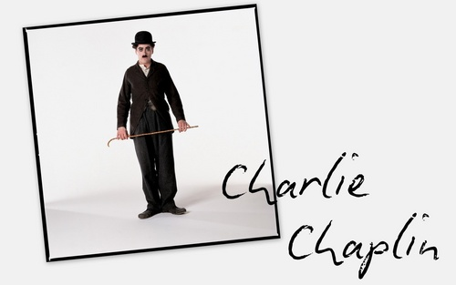 Film wallpaper called Chaplin