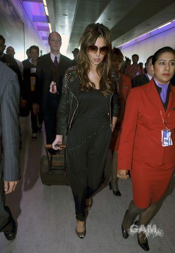 Cheryl Cole at Heathrow airport (September 5)