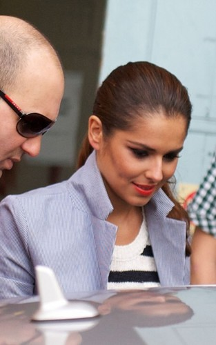Cheryl out in Londra