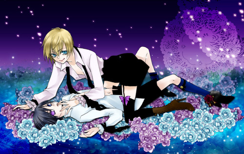 Ciel and Alois