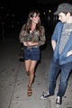 DINNER AT IZAKA-YA WITH JENNA USHKOWITZ, LEA MICHELE AND THEO STOCKMAN