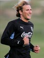 Diego Forlan & Uruguayer Nationalteam - Training