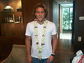 Diego Forlan in Calcutta/India