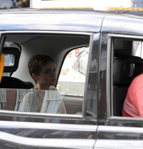 Emma Watson & Alex Watson shopping in London on 28/08
