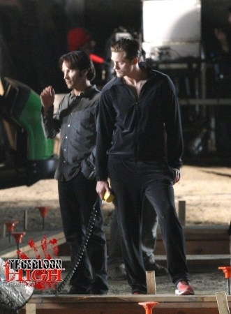Eric Northman - filming of the TB finale