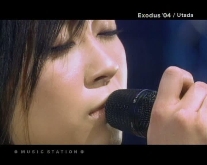 Utada Hikaru images Exodus 04 (live) [Music Station] HD wallpaper