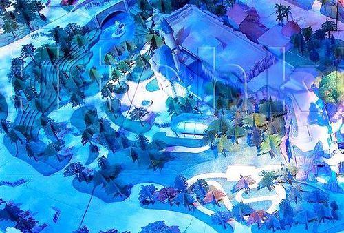 Walt Disney World wallpaper entitled Fantasyland Expansion, Original Model and Plans