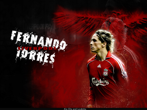 Fernando Torres দেওয়ালপত্র possibly with a সঙ্গীতানুষ্ঠান and a portrait entitled Fer Torres