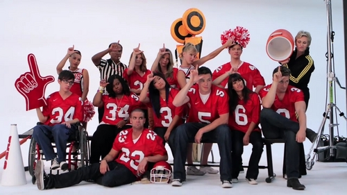 Glee Cast Season 2 Photoshoots