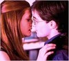 Harry Potter foto containing a portrait entitled Hinny- DH Kiss